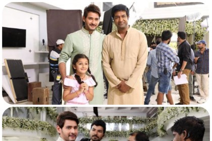 Mahesh Babu's daughter Sitara drives all the way only for a picture with Vennela Kishore