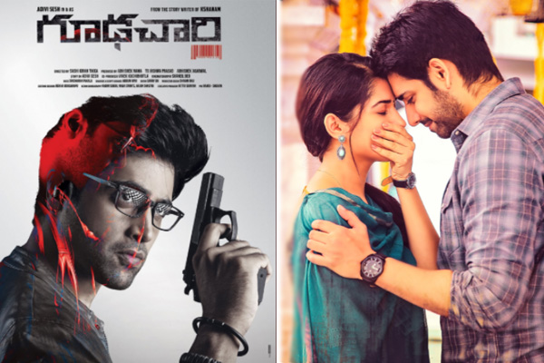 Adivi Sesh starrer Goodachari and Sushanth starrer Chi La Sow Box Office report