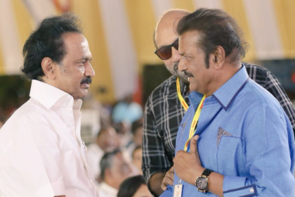 Veteran actor Mohan Babu heaps praise on MK Stalin after paying tribute to Karunanidhi