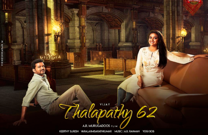 Vijay and Keerthy Suresh head to US for the final schedule of A R
