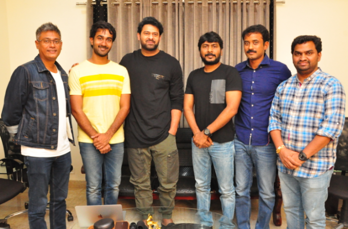 Saaho actor Prabhas all praise for Paper Boy team