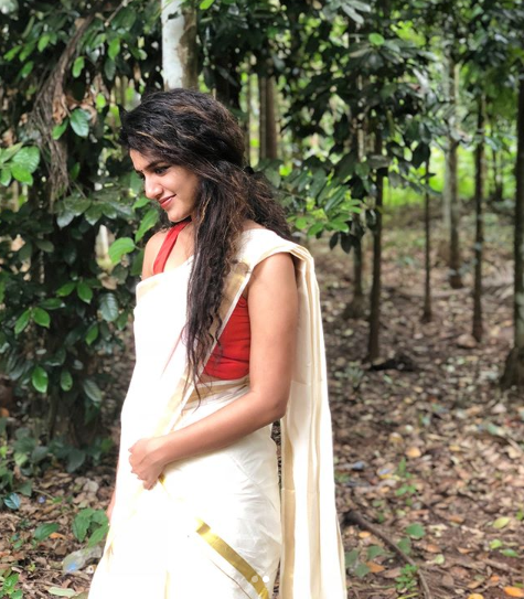 Priya Prakash Varrier takes the Internet by storm yet again with her desi look