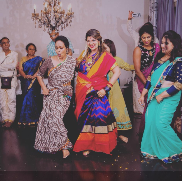 Photos:Salman Khan's Judwaa 2 co-star Rambha dancing at her baby shower is the cutest thing you will see today