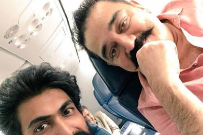 When 'Bhallaladheva' Rana Daggubati met 'Ulaga Nayagan' Kamal Haasan on a flight
