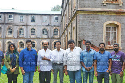 Rajinikanth wraps up action sequences for his next film with Karthik Subbaraj