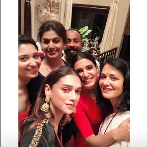 Photos: Aditi Rao Hydari, Samantha Akkineni and Tamannaah Bhatia party hard