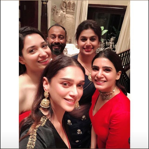 Photos: Aditi Rao Hydari, Samantha Akkineni and Tamannaah Bhatia party hard