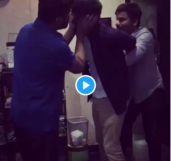 Bigg Boss Tamil 2: Simbu welcomes Mahat Raghavendra with a slap after his eviction- Video