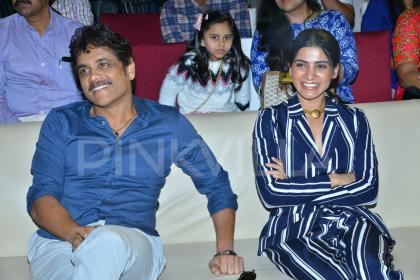 Photos: Nagarjuna Akkineni graces Samantha's U Turn pre-release event