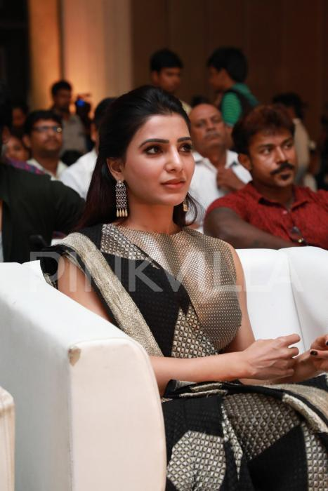 Style inspiration: Samantha Akkineni dons the saree with a modern twist and it's lit