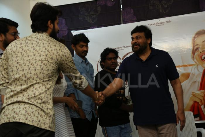 Photos: Megastar Chiranjeevi launches Pyaar Prema Kaadhal Telugu trailer