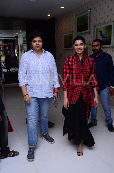 Photos: Samantha Akkineni at the success meet of U Turn