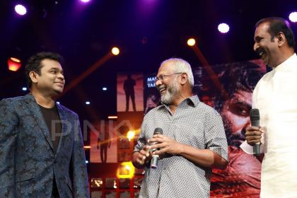 Photos: AR Rahman, Aditi Rao Hydari, Mani Ratnam at grand Chekka Chivantha Vaanam audio launch