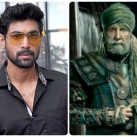 Here's how Rana Daggubati reacted to Amitabh Bachchan's Thugs of Hindostan look