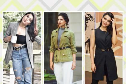 U turn: Samantha Akkineni's promotional wardrobe is to watch out for!