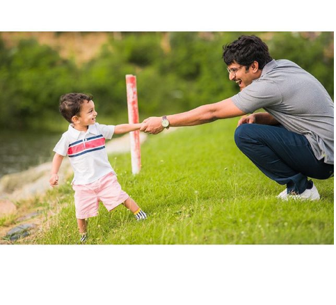 SEE PIC: Nani's picture with son Arjun is the cutest thing you'll see today!