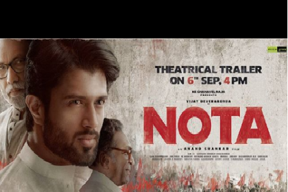 Vijay Deverakonda starrer latest NOTA poster will leave you stunned