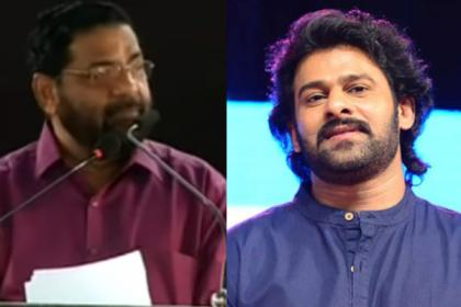 Malayalam stars should learn from Prabhas, Kerala minister slams over flood relief donations