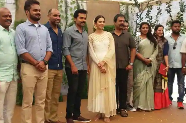 Karthi and Rakul Preet Singh starrer Dev shooting stalled due to heavy floods in Himachal