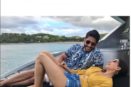 Samantha Akkineni and Naga Chaitanya's romantic picture from Ibiza holiday is giving us major couple goals