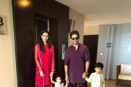 Allu Arjun's wife Sneha Reddy sets a new popularity trend for other star wives