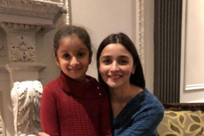 Mahesh Babu's daughter Sitara bumps into Alia Bhatt in New York and their cute picture is unmissable