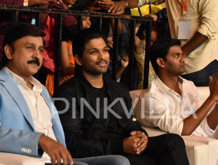 Photos: Fans give a rousing welcome to Allu Arjun at a recent event