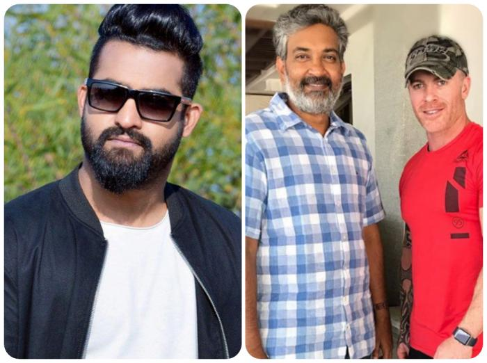 Lloyd Stevens to train Jr NTR for SS Rajamouli's next, expresses his excitement; View Photo