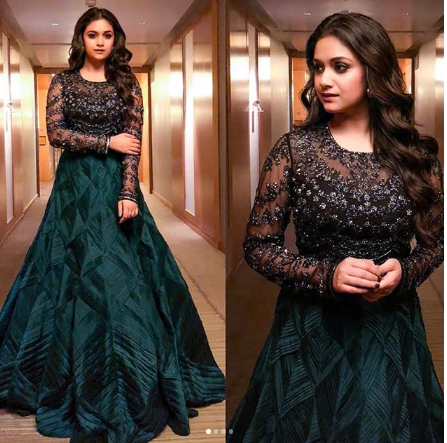 Yay or Nay: Keerthy Suresh in JADE by Monica and Karishma