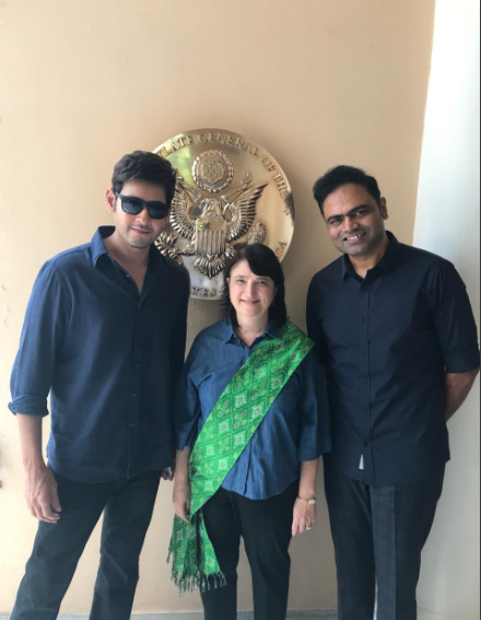 Maharshi: Mahesh Babu begins with the next schedule in the USA; view photos