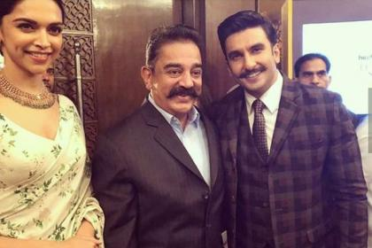 Ranveer Singh and Kamal Hassan bond over their moustache and look who steals the show