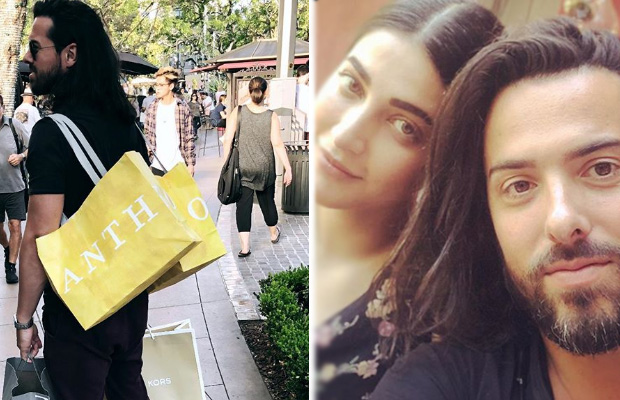 Alleged Lovebirds Shruti Haasan and Michael Corsale go shopping and their pictures are giving couple goals