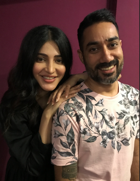 Shruti Haasan on her collaboration with Nucleya: One of my favourite experiences