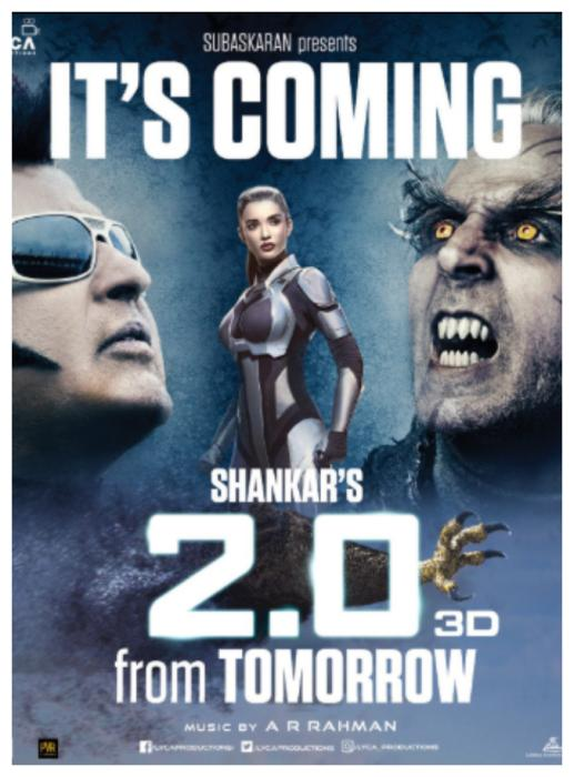2.0: A day ahead of the release complaint filed against Rajinikanth, Akshay Kumar's film; here's why