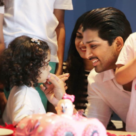 Allu Arjun and Sneha celebrate their daughter Arha's 2nd birthday and you can't miss these adorable photos