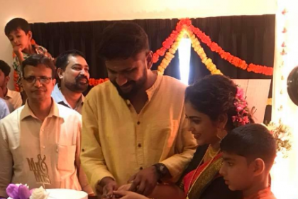 Malayalam actress Srinda Arhaan ties the knot with director Siju S Bava; see photos