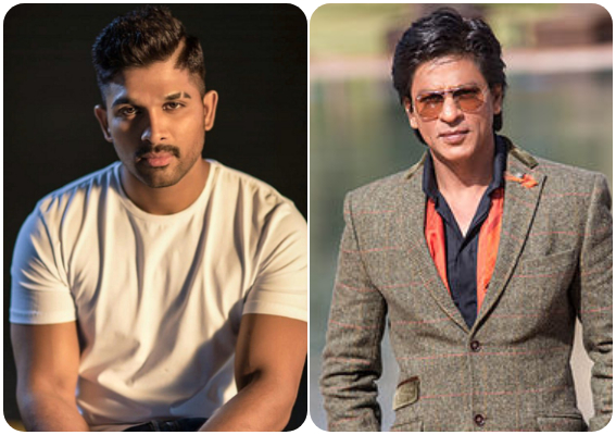 Allu Arjun is the biggest fan of Shah Rukh Khan and his recent Instagram post is a proof