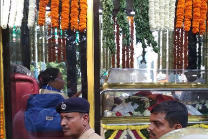 RIP Rebel Star: CM H D Kumaraswamy and thousands of fans bid a tearful farewell to Ambareesh