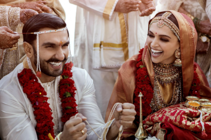 Deepika Padukone and Ranveer Singh share first wedding pictures, Aditi Rao Hydari and Pooja Hegde shower love