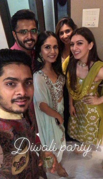 Diwali 2018:Kajal Aggarwal, Allu Arjun, Ram Charan, Hansika Motwani and others celebrate the festival in style