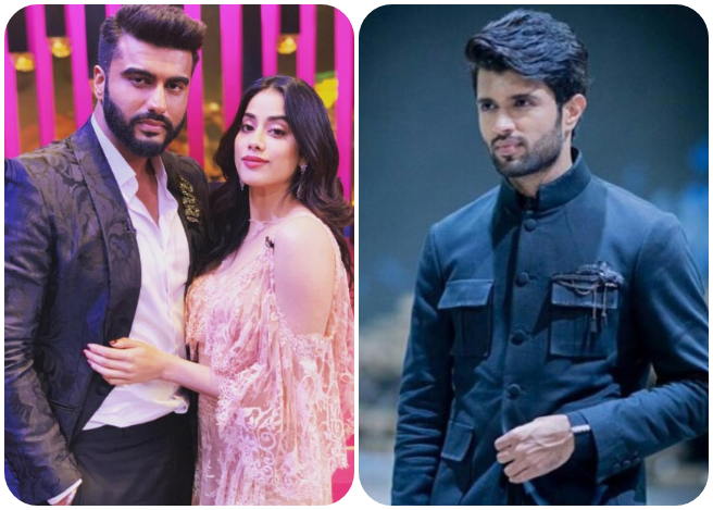 Janhvi Kapoor expresses her wish to work with Vijay Deverakonda on Koffee With Karan 6