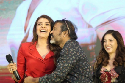 Kajal Aggarwal faces an awkward moment after popular technician forcibly kisses her at Kavacham launch