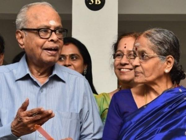 Late filmmaker K Balachander's wife Rajam passes away in Chennai