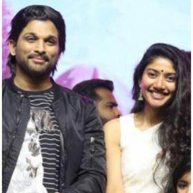 Watch: Allu Arjun is awestruck of Sai Pallavi's dance moves, says I'm excited to perform with her