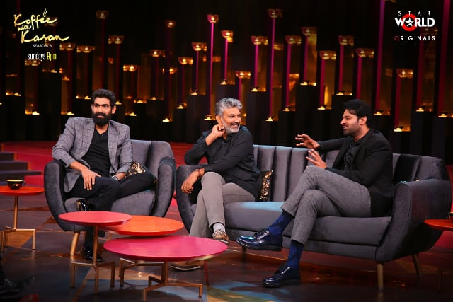 Koffee With Karan Season 6: Prabhas finally reveals about his relationship status with Anushka Shetty