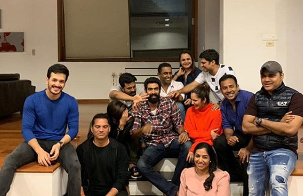 Photo Alert: Rana Daggubati, Ram Charan, Sania Mirza and Akhil share a picture perfect candid moment