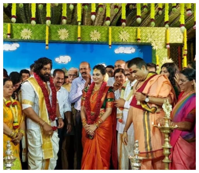 Photos: Dhruva Sarja gets engaged to his childhood friend Prerana