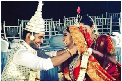 Congratulations! Diganth Manchale and Aindrita Ray are now MARRIED and you can't miss these adorable photos
