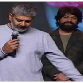 SS Rajamouli about KGF star Yash: A bus driver's son becomes the top star in the Kannada industry; watch video